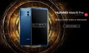 【業界トピックス】HUAWEI、Androidスマートフォンの最新モデル「Mate 10」「Mate 10 Pro」を発表